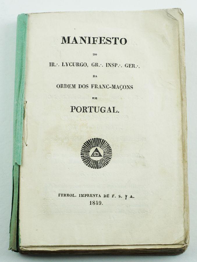 Manifesto da Ordem dos Franc – Maçons em Portugal