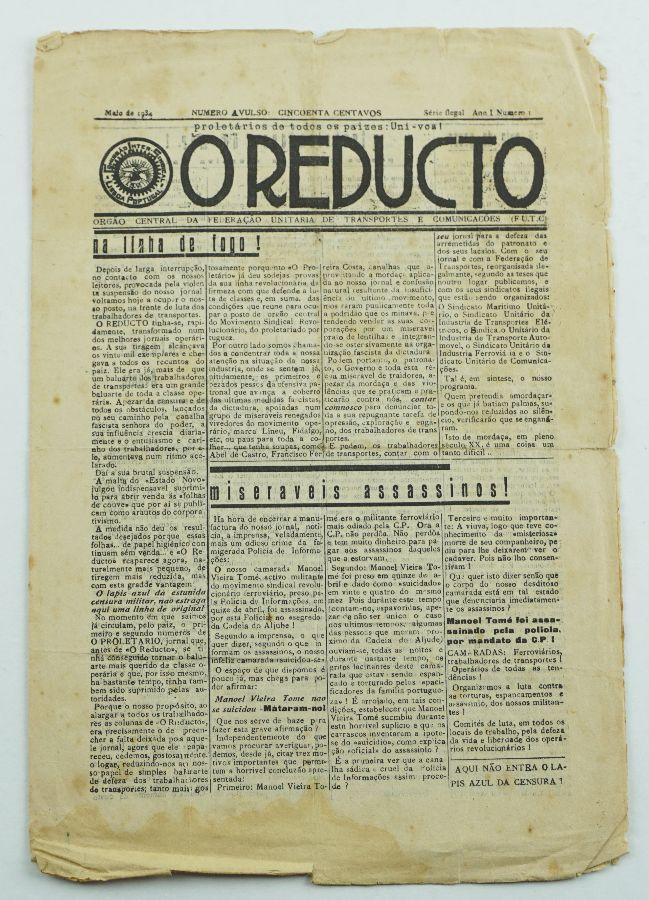 O Reduto - Jornal sindical clandestino (1934)