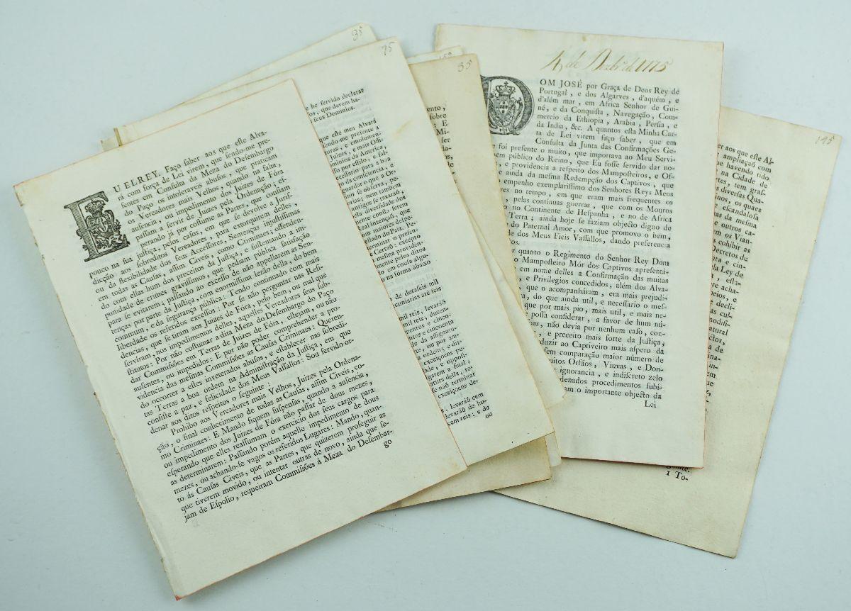 Legislação pombalina sobre Justiça (século XVIII)
