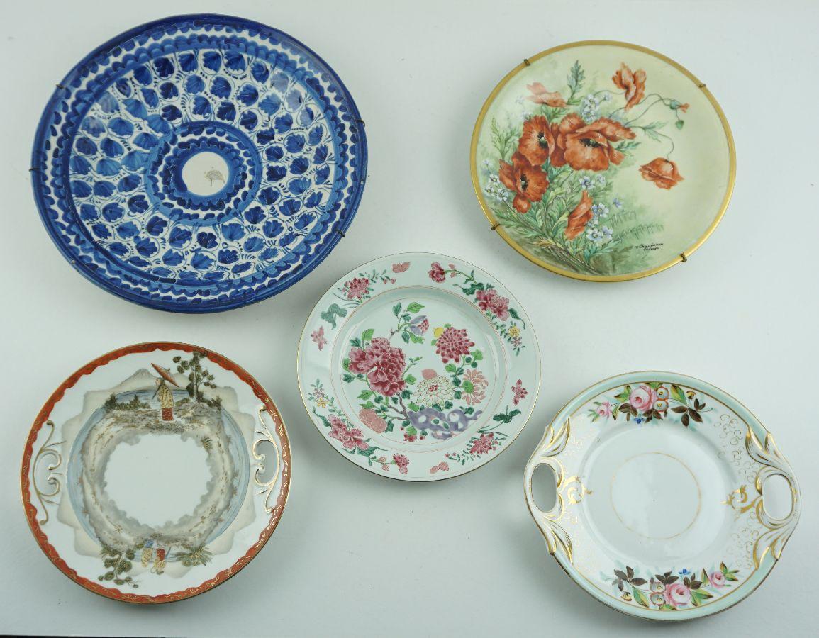 5 Peças em cerâmica