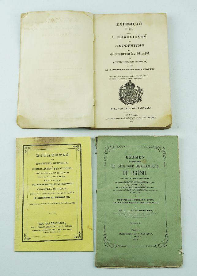 Importantes livros do séc. XIX sobre o Brasil Monárquico