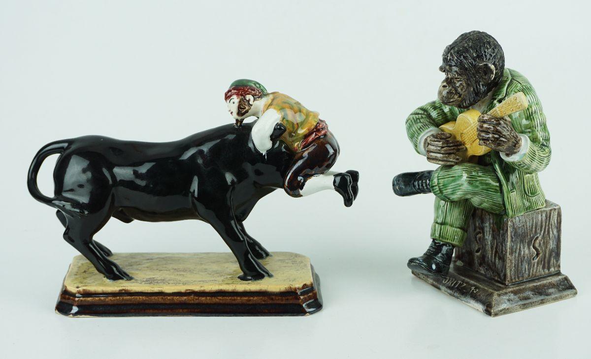 2 Peças em Cerâmica