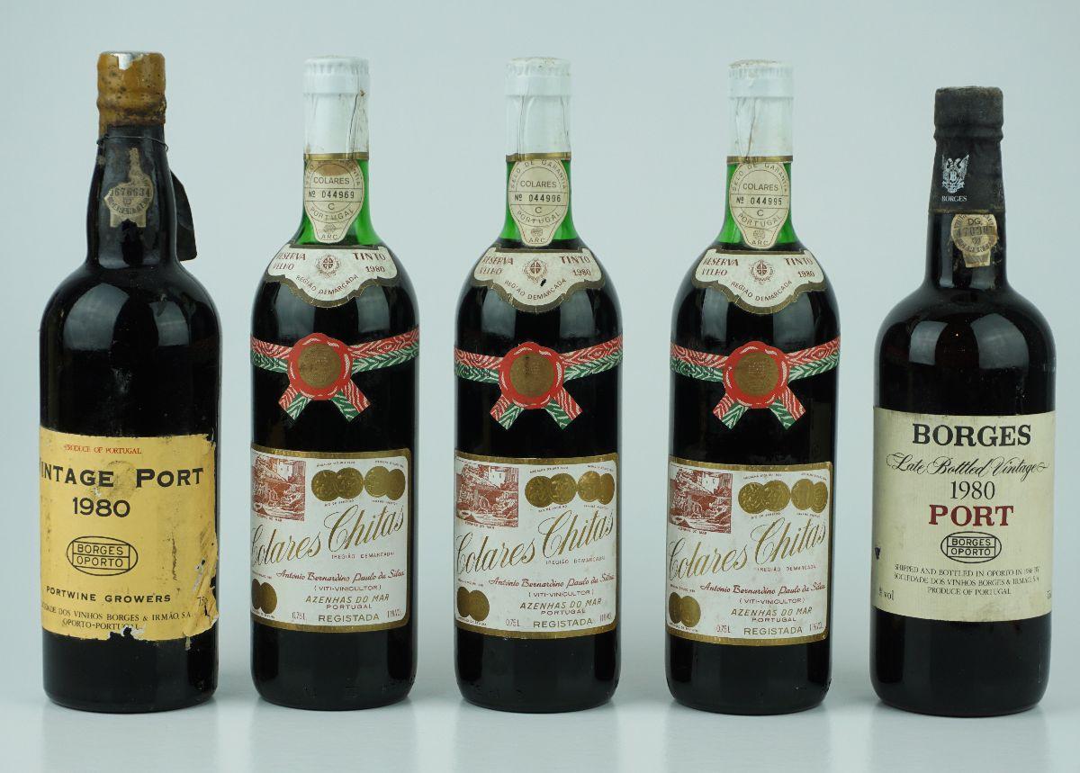 2 Garrafas de Vinho do Porto