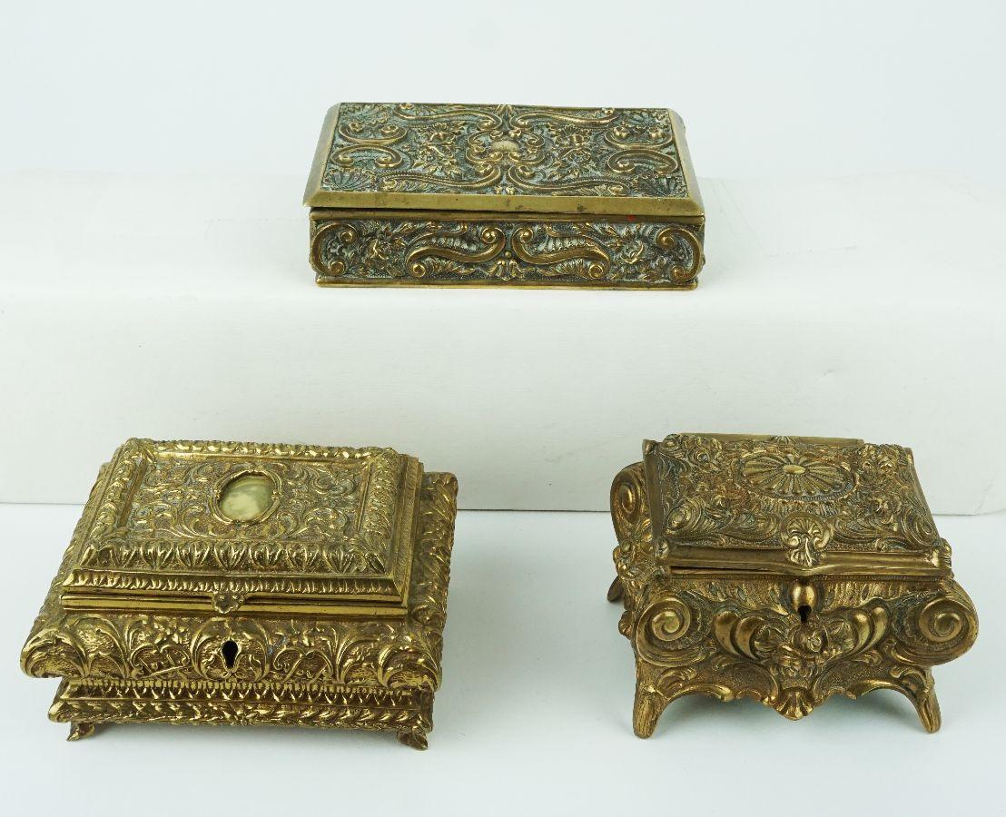 3 Caixas guarda-jóias
