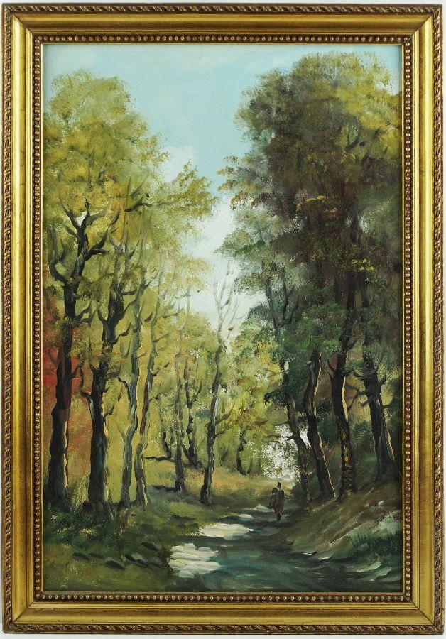 Caminho na floresta