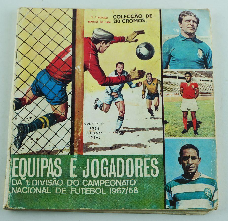 Colecção de Cromos Futebol de Portugal editada em 1968