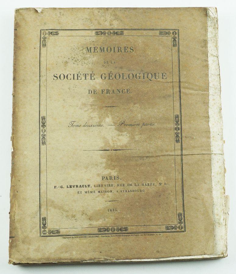 Memoires de la Societe Geologique de France ( 1845)
