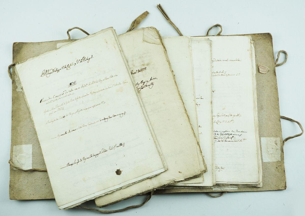 Manuscritos Séc. XVIII