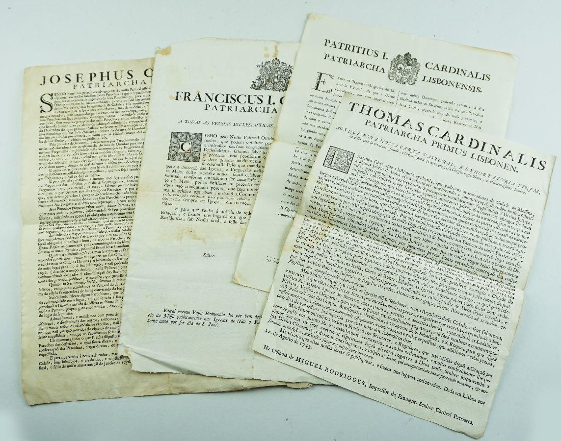 Cartas Pastorais séc. XVIII e XIX