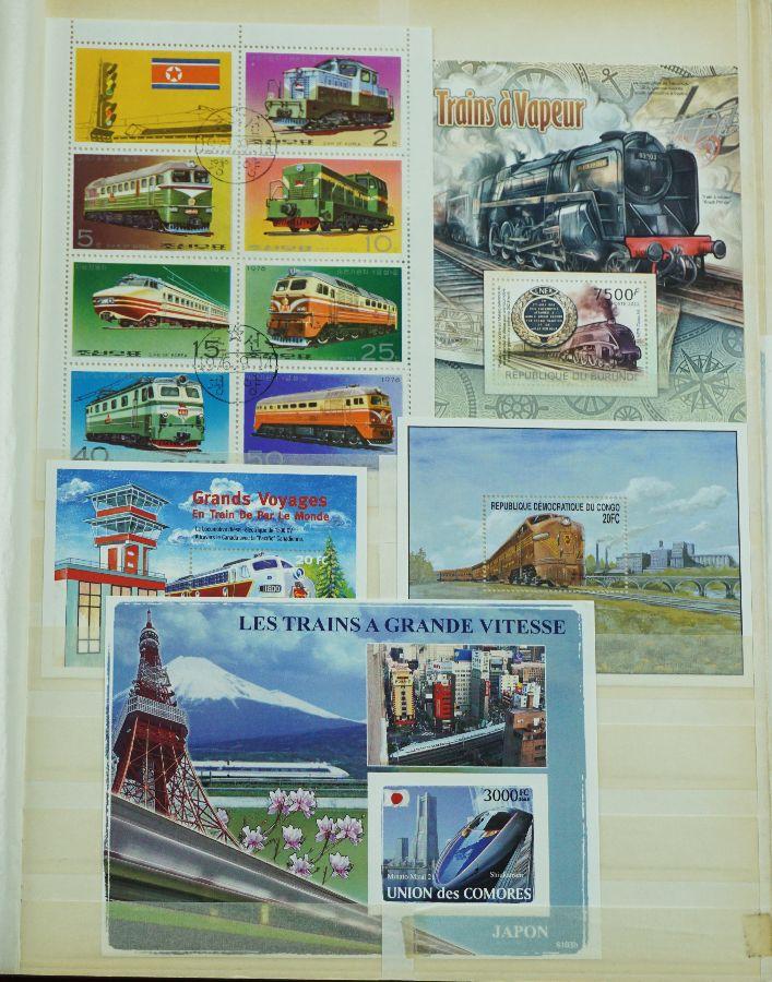 Filatelia Temática Comboios