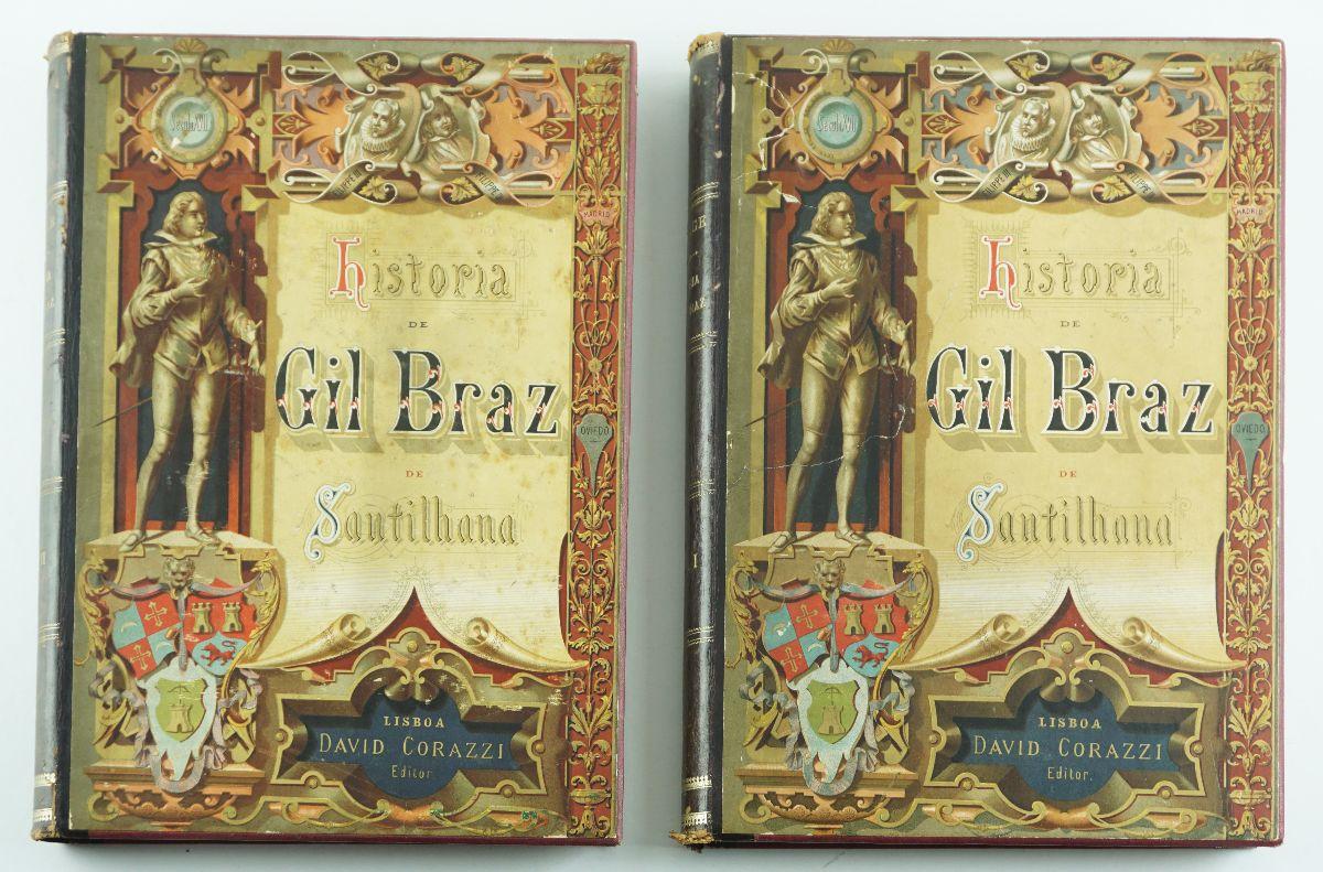 História de Gil Braz de Santilhana