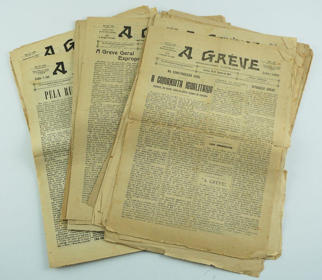Semanário Operário A Greve (1917)