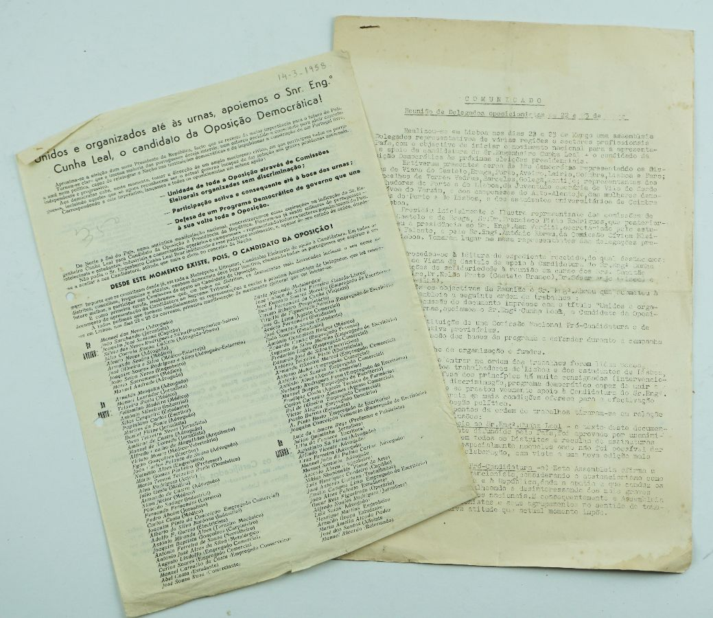 Candidatura de Cunha Leal à Presidência da República (1958)