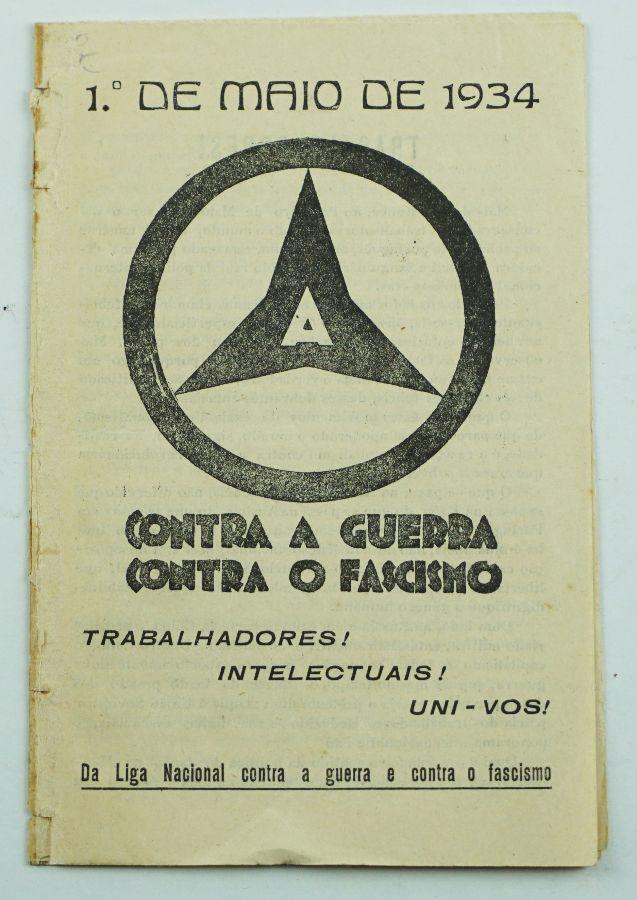 Liga Nacional contra a Guerra e o contra Fascismo (1934)