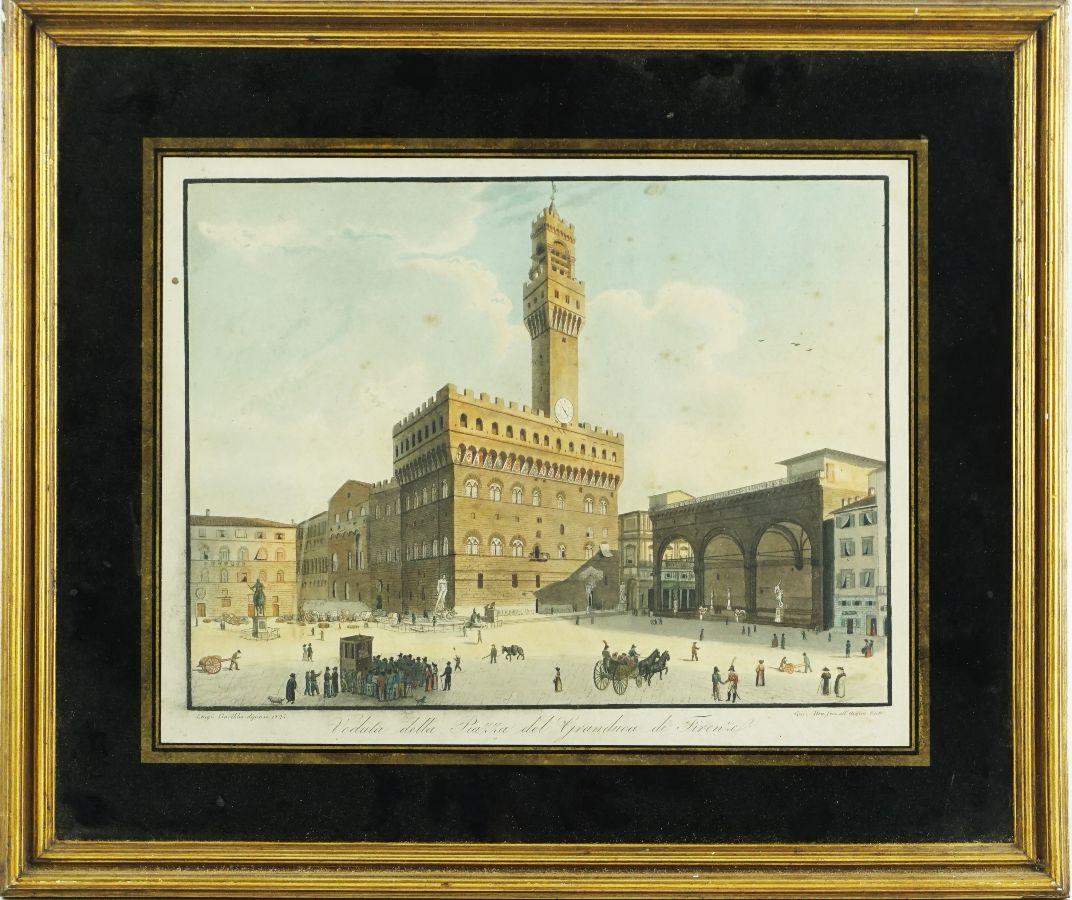 Praça de Granduca em Florença