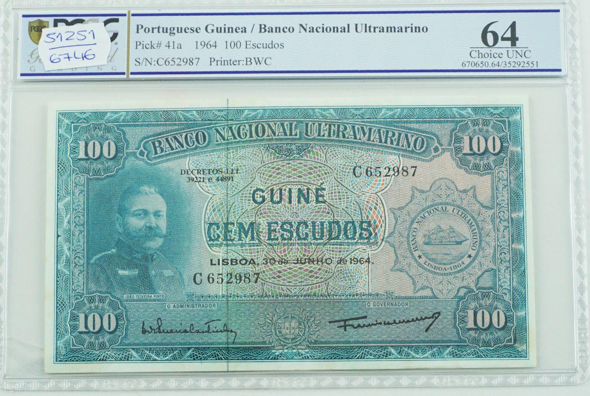 Nota Guiné Portuguesa