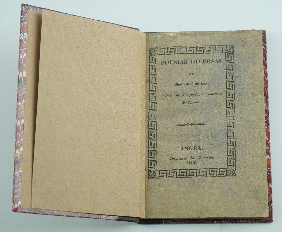 Luz Soriano - rara edição de Angra (1832)