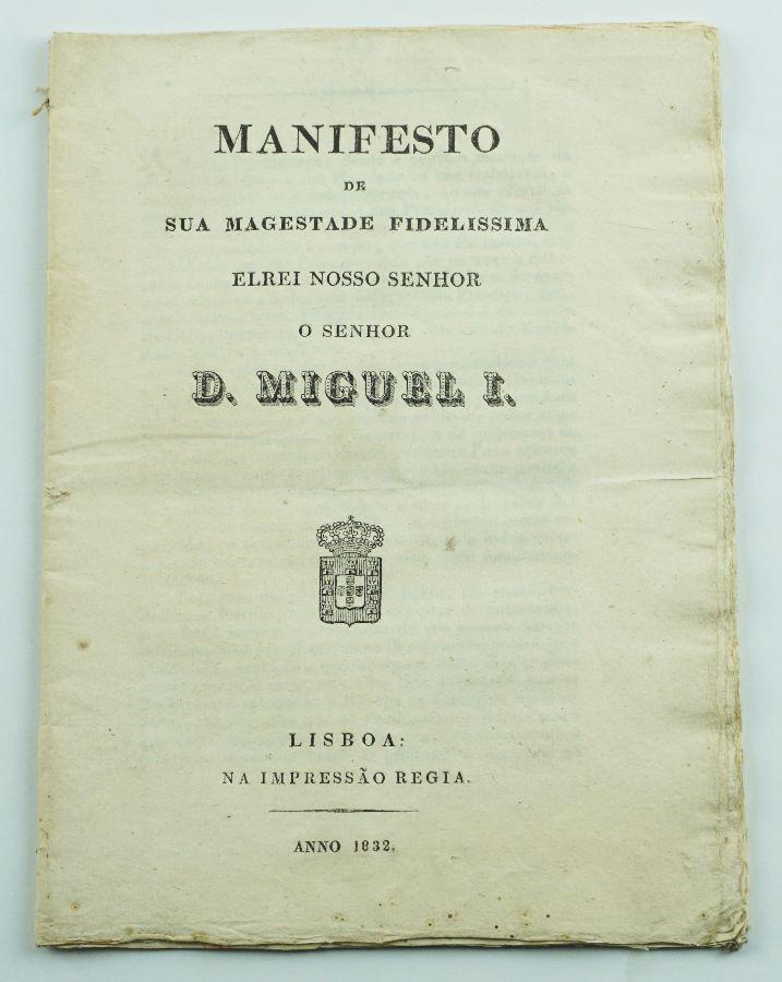 Manifesto de D. Miguel (1832)