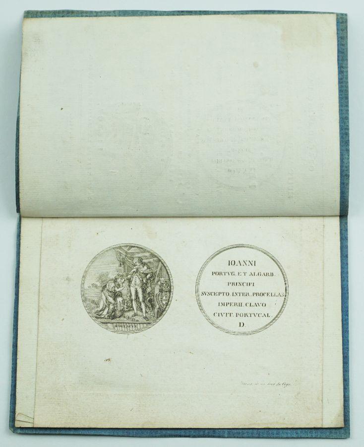 Medalha dedicada pela cidade do Porto ao Príncipe Regente (1799)