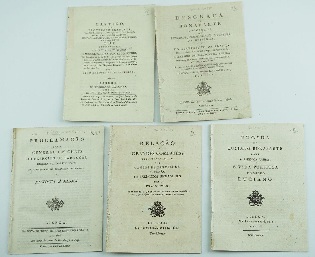 Invasões Francesa – folhetos anti-napoleónicos (1808)