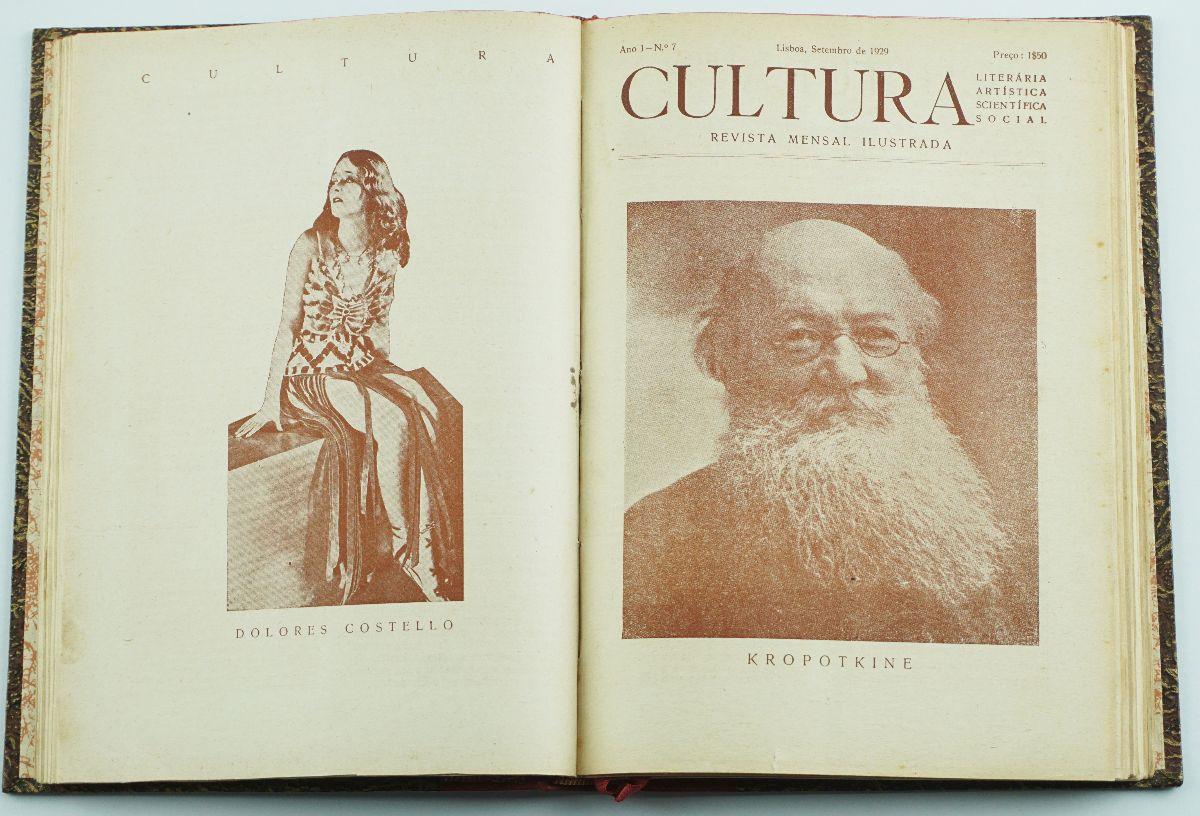 Cultura – uma revista libertária, literária, artística, científica e social