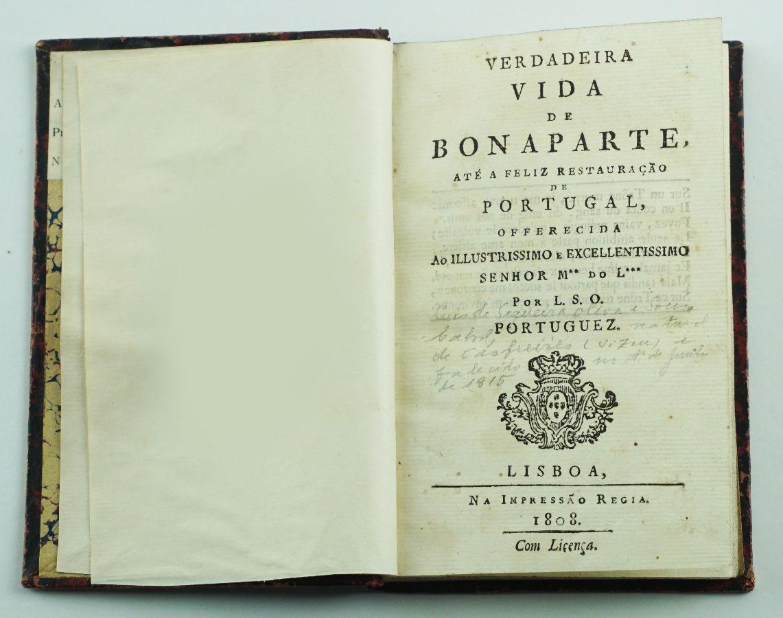Uma biografia portuguesa de Napoleão (1808)