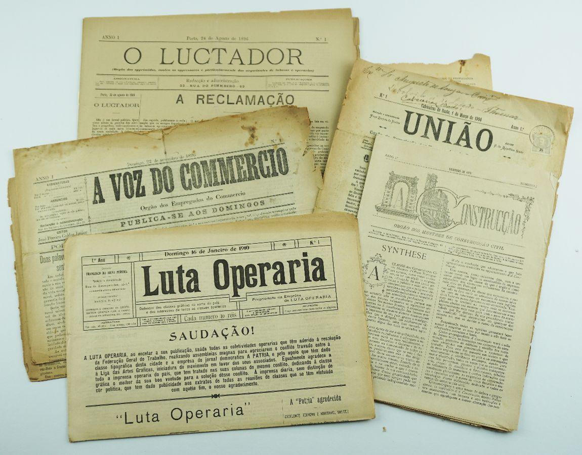 Nºs 1 de Jornais operários portugueses