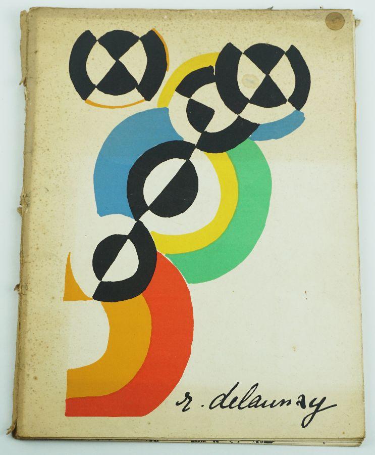 ROBERT DELAUNAY. 1ª EDIÇÃO. LITOGRAFIA ORIGINAL