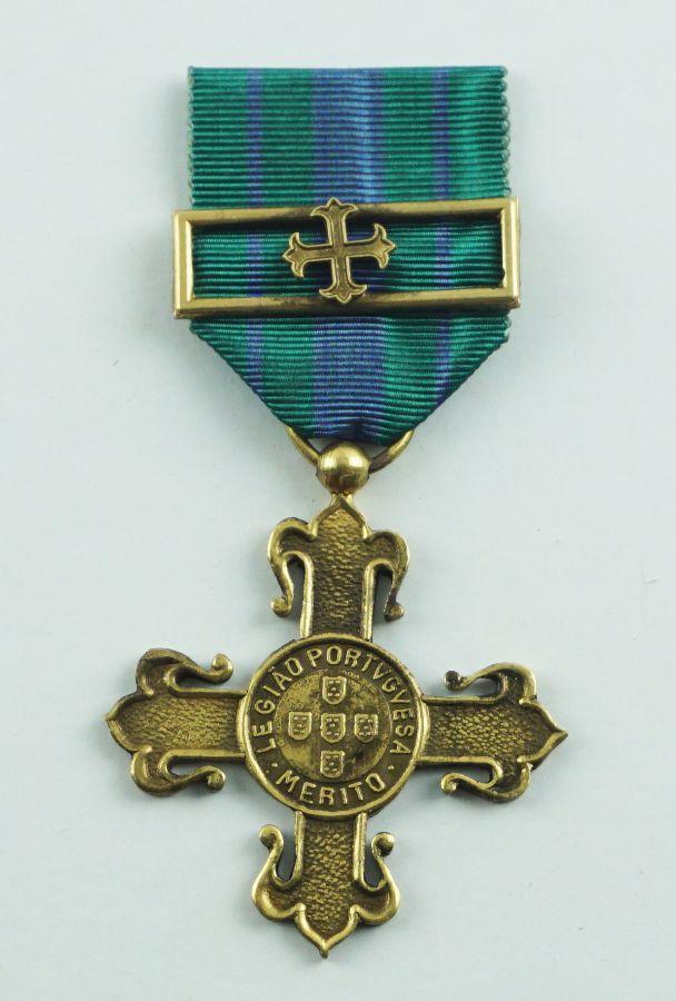 Medalha de Mérito da Legião Portugeusa Grau Ouro