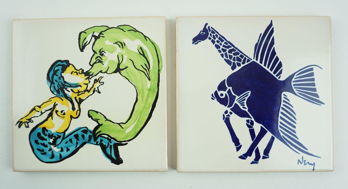 2 Azulejos da série