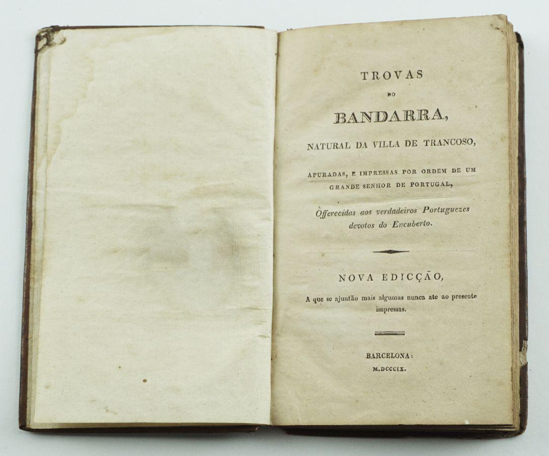 TROVAS DE BANDARRA. 1809