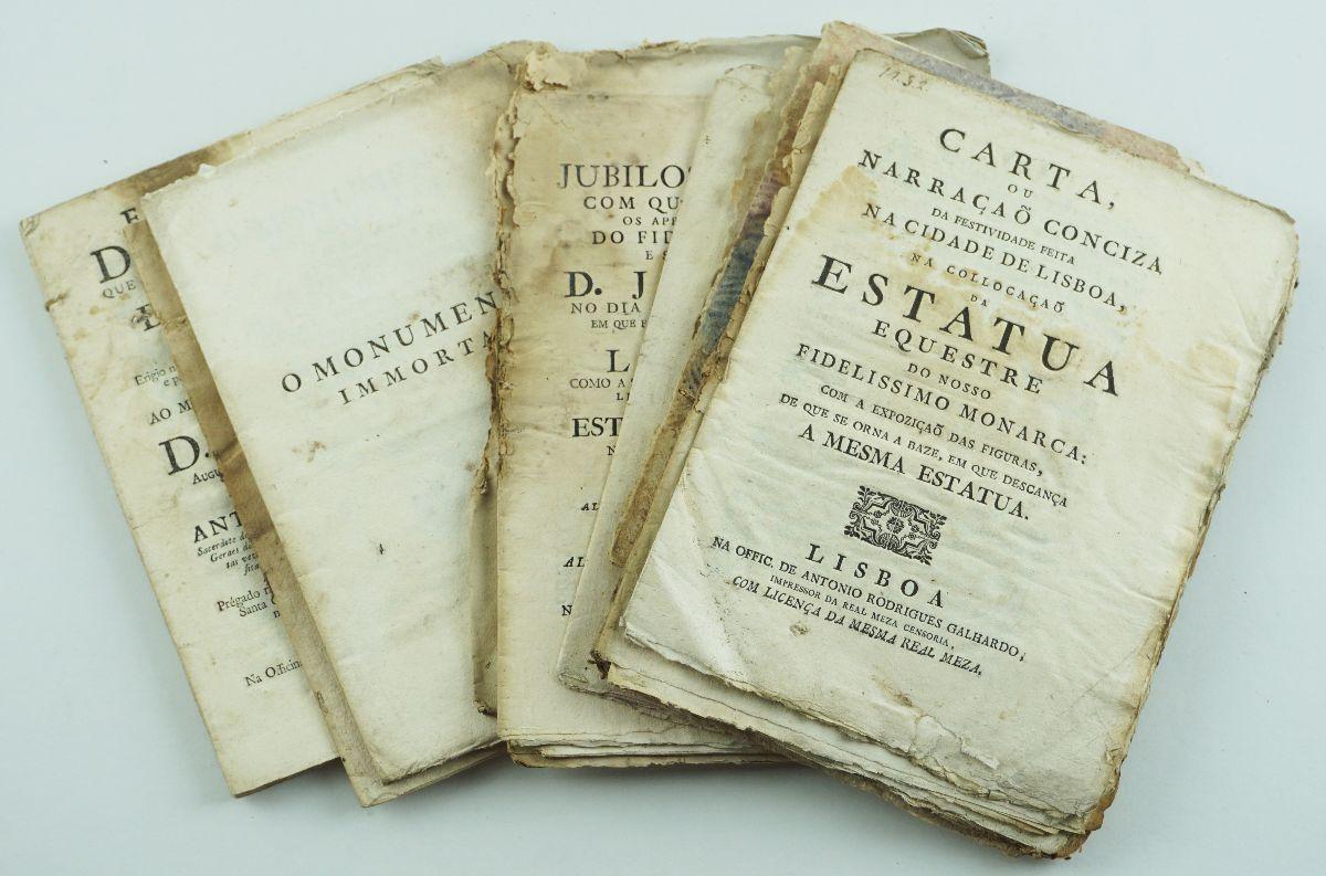 INAUGURAÇÃO DA ESTÁTUA EQUESTRE DE DOM JOSÉ. 1775.