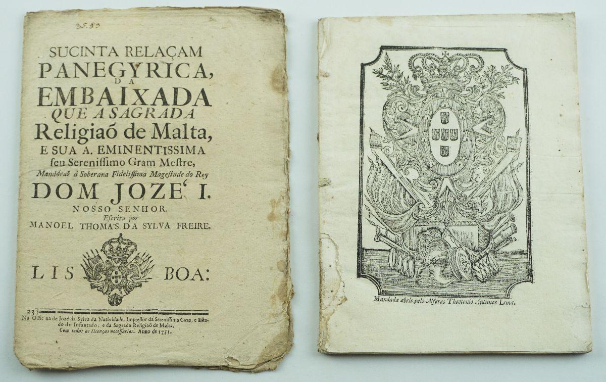 ORDEM DE MALTA. SÉCULO XVIII