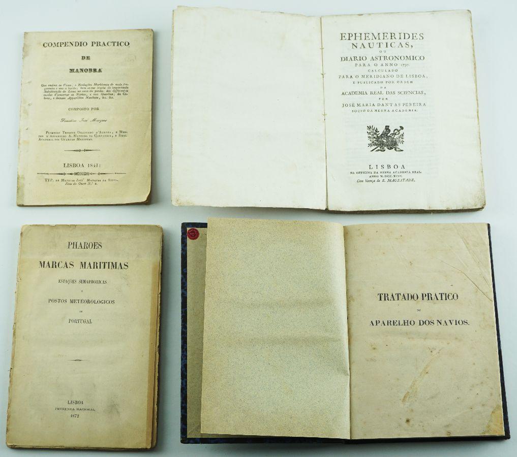 LIVROS DE NAVEGAÇÃO. 1796 – 1872.