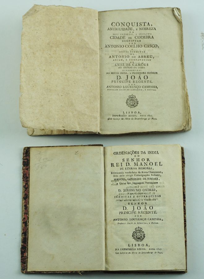 CONQUISTA DE COIMBRA | ORDENAÇÕES DA ÍNDIA 1805 – 1807.