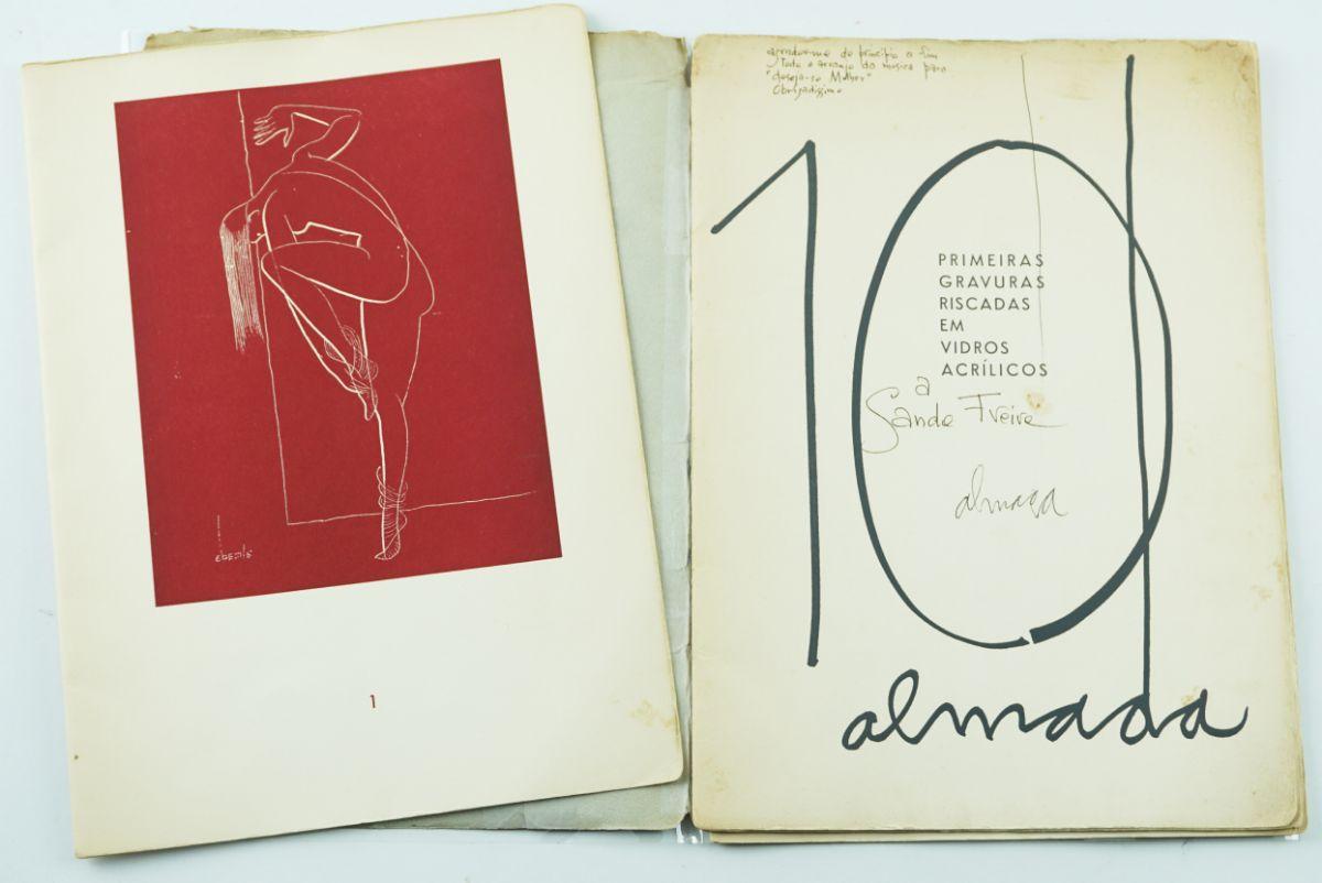 Almada Negreiros (com dedicatória e notas do Autor)