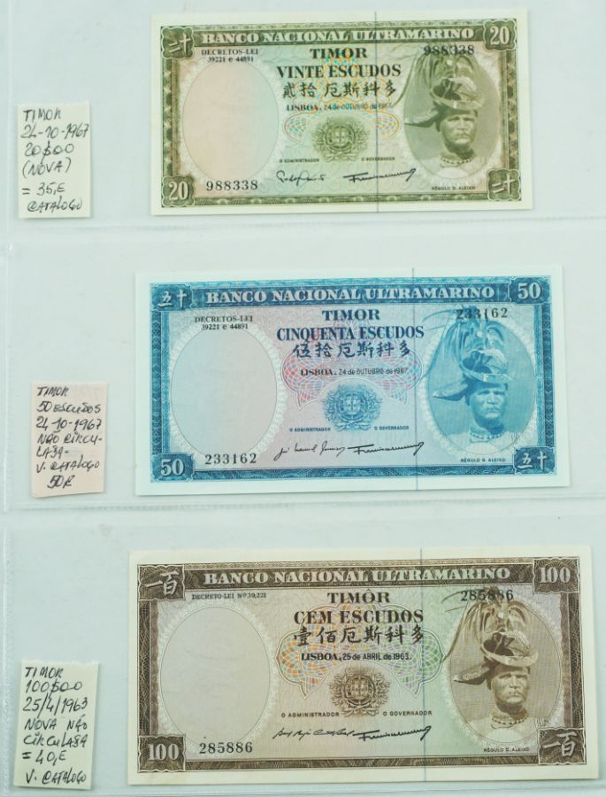 Angola, Moçambique, Timor e Cabo Verde