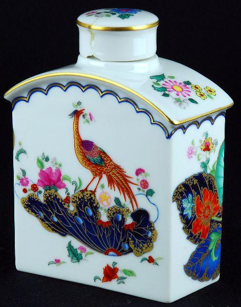 Frasco de Chá em Porcelana