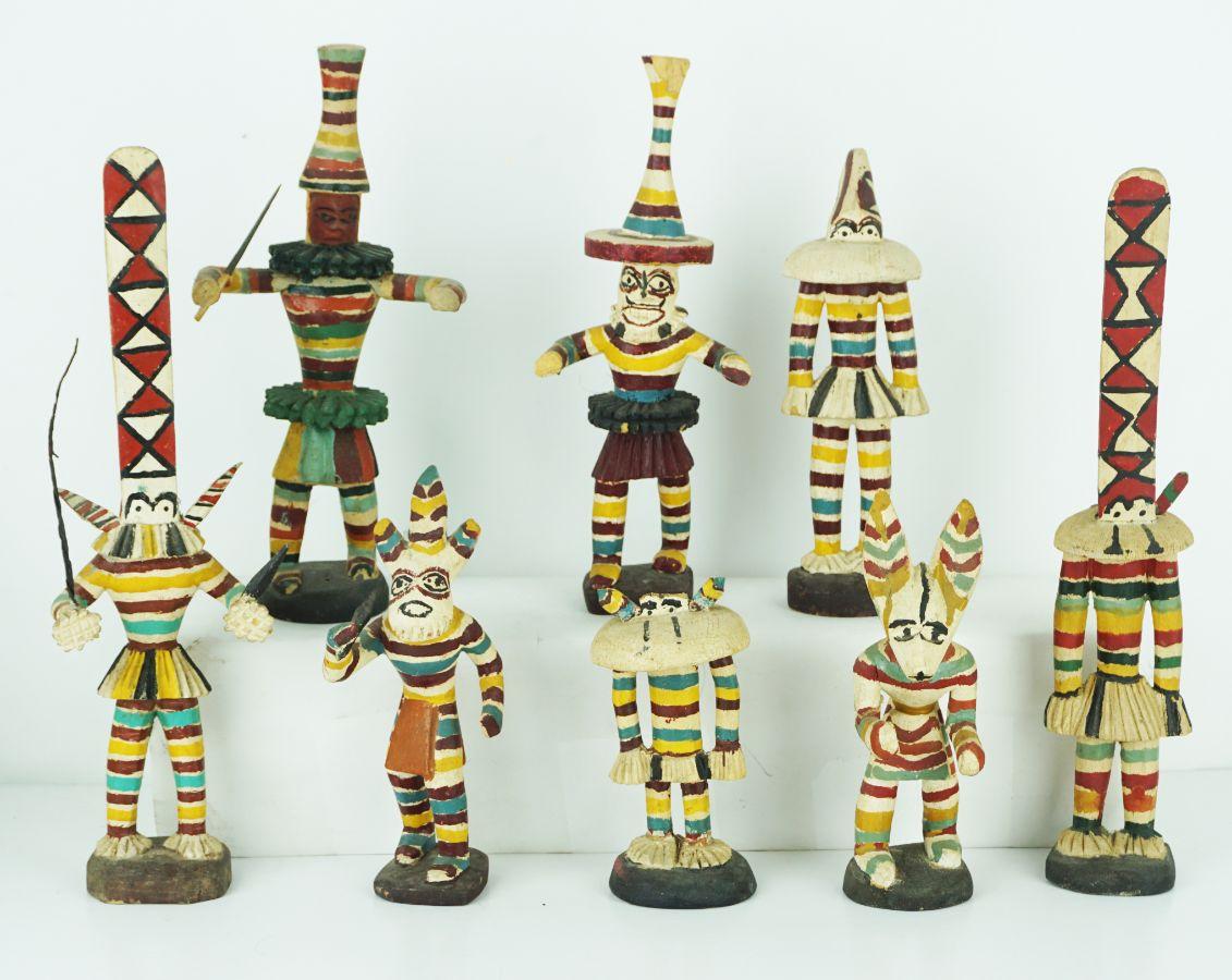 8 Figuras Africanas
