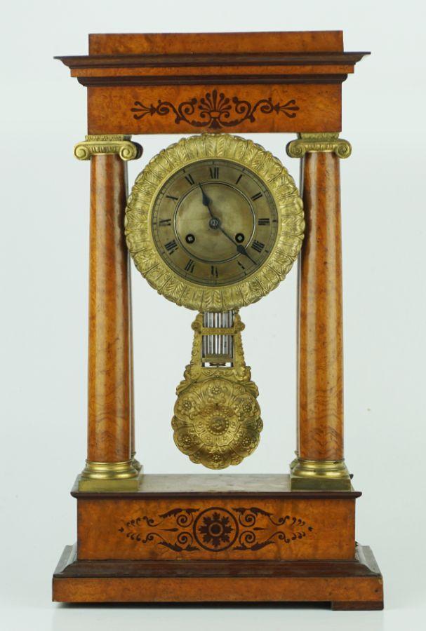 Relógio de mesa Império