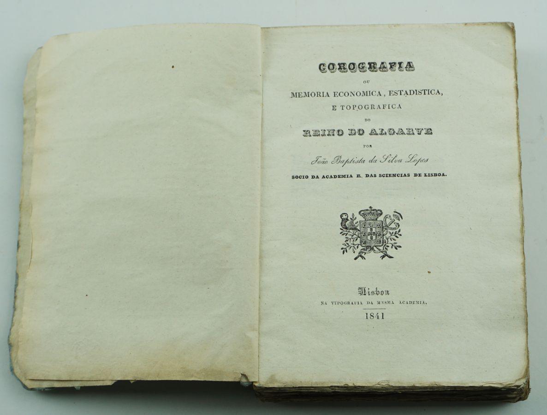 Corografia ou Memoria …do Reino do Algarve (1ªedição)