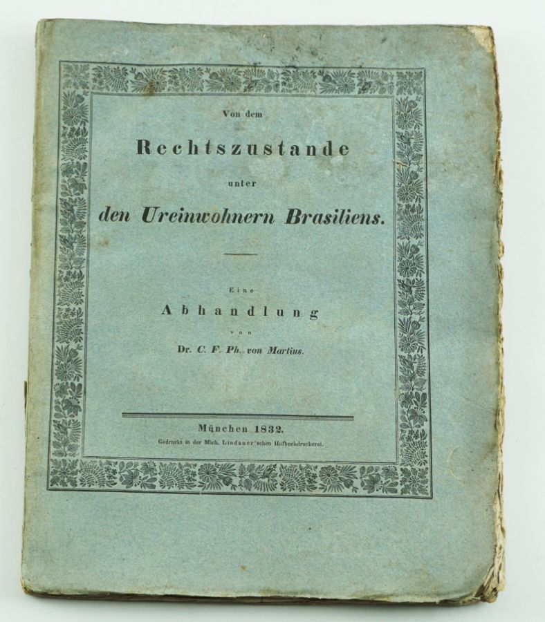 Indios Brasil 1832