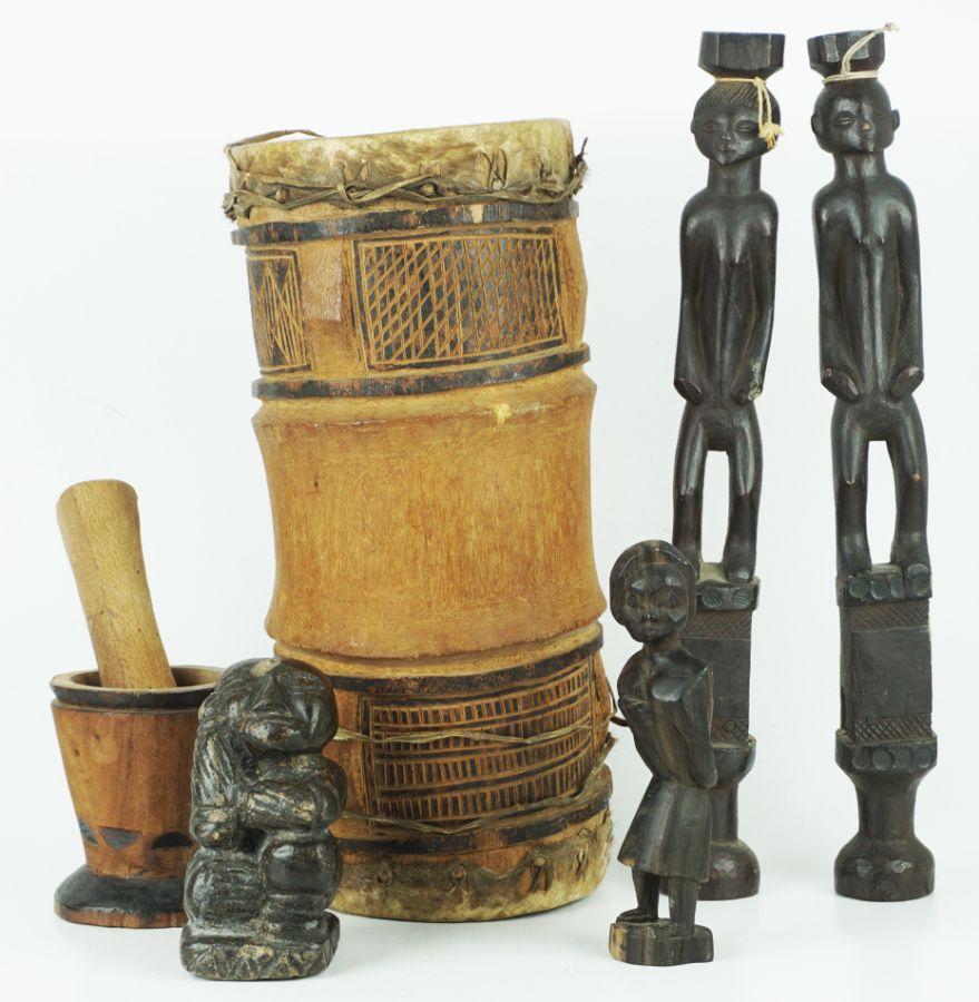 Lote de 10 peças Africanas