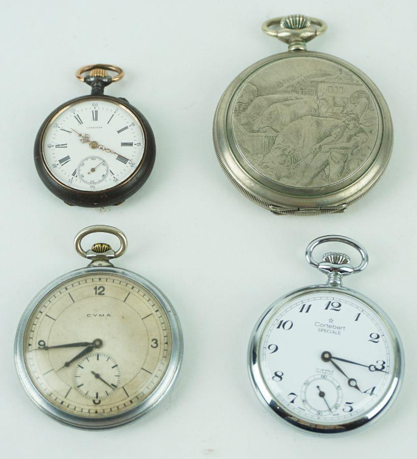 4 Relógios de bolso