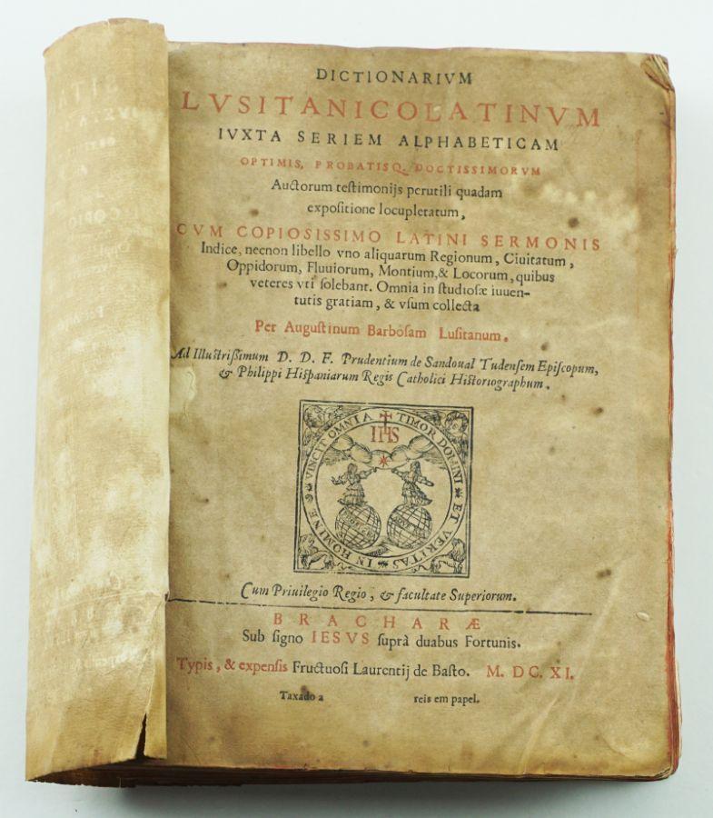 Dictionarium Lusitanico Latinum, 1611
