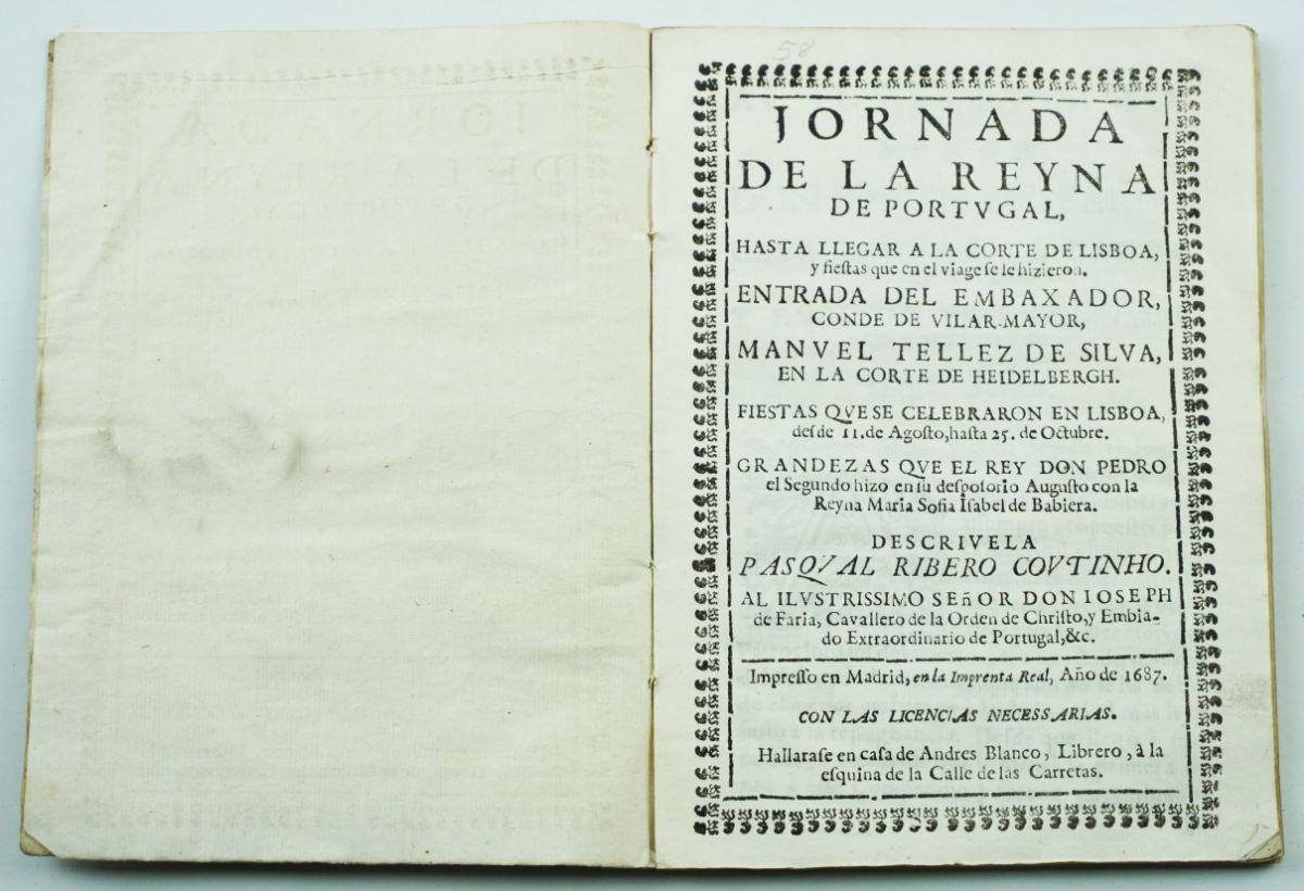 Jornada de La Reyna de Portugal (1687)
