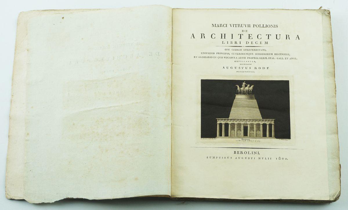 Marci Vitruvii Pollionis De architectura libri decem