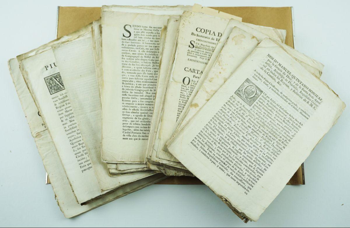 Colecção de documentação Eclesiástica Portuguesa séc. XVII e XVIII