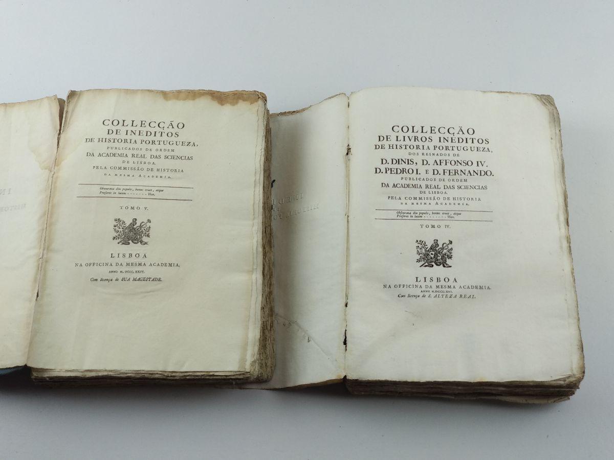 Collecção de Inéditos de História Portugueza