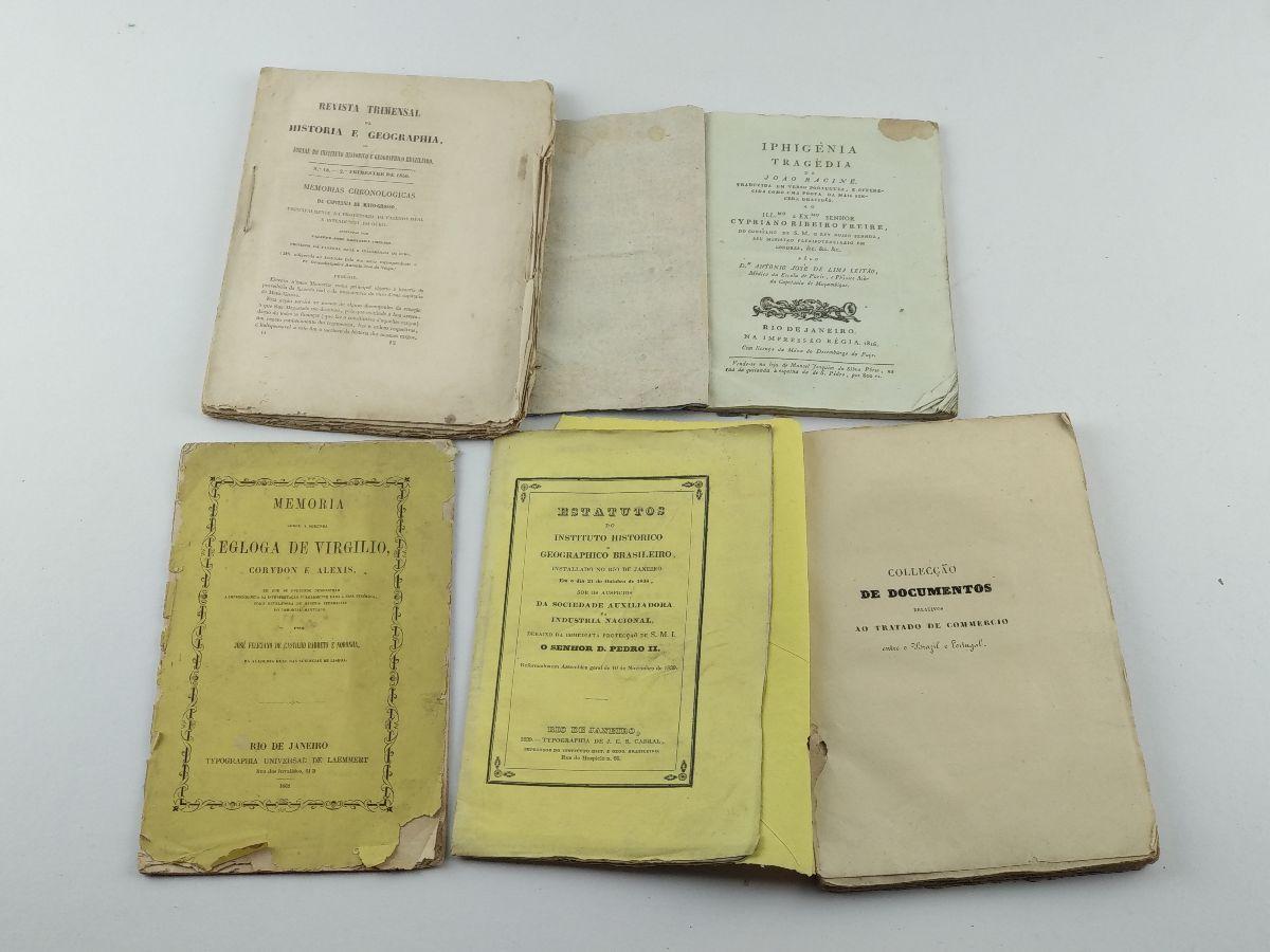 Livros impressos no Brasil Séc. XIX